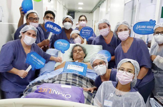 Moradora de Mato Grosso, cardiopata e com Covid-19, paciente da UTI AMH Especialidades tem alta em Rondonópolis